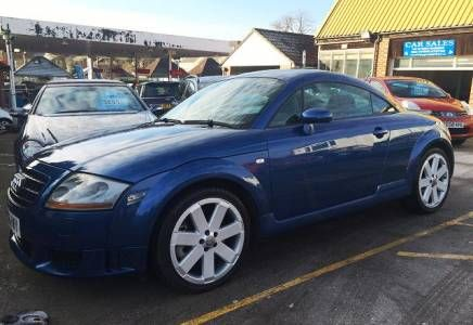 Audi TT 3.2 Quattro DSG Coupe Price - £6695 Very nice low mileage example of these much sought after 3.2 Quattro TT's. Fabulous performance and drive, a well care for and maintained example.