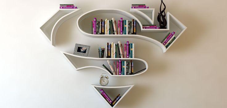 Déco : on veut une bibliothèque super-héros ! - Grazia.fr