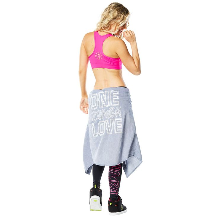 ONE ZUMBA LOVE BUTTON DOWN - ZUMBA DENIM DAZE (UNISEX) --------------------------------- Remix your style in the One Zumba Love Button Down! Pair this chambray button down with your Favourite bottoms and kicks for an ever-so-stylish workout.  Zumba top, Dance top.
