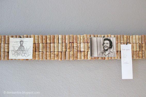 Die besten 20 korken ideen auf pinterest bastelprojekte mit weinkorken weinkorken kunst und - Pinnwand aus korken ...