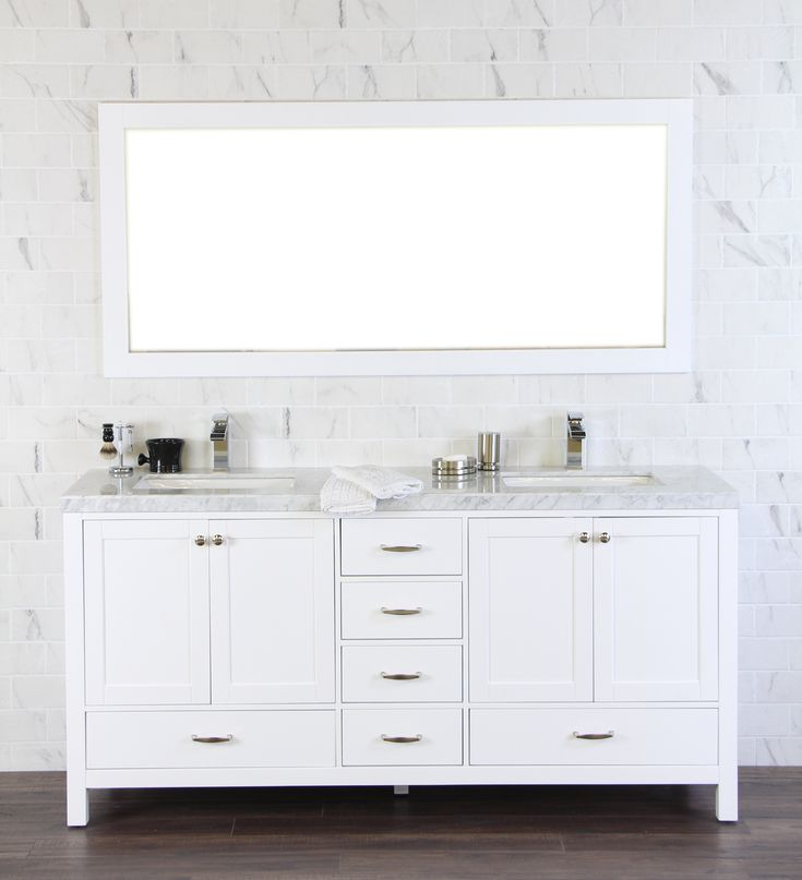 Carrara Marble Kitchen Benchtops: Carrara, Glass Shower And Marble Bathrooms