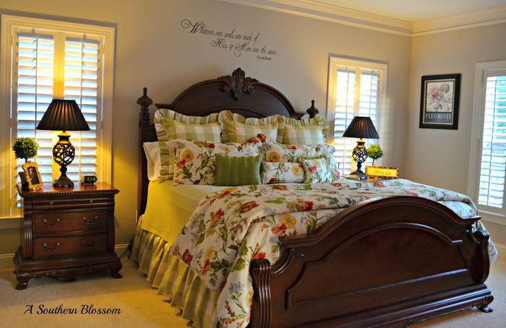 A Southern Blossom: Home Tour Continued....