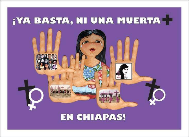 obra de Blanca Villaseñor Chiapas