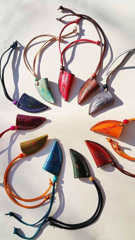 Boogschieten String-keeper van MadeOfLeather op Etsy