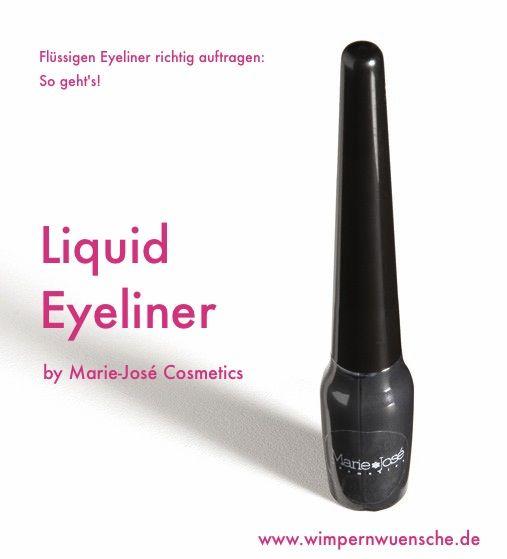 Super-feiner Eyeliner auch für dünne Lidstriche.