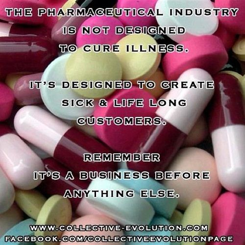 1st thing I learned as a Finance major. A PUBLIC COMPANY and its CEO'S ARE FIRST AND FOREMOST RESPONSIBLE TO THE SHAREHOLDERS! Everything else is secondary. Watch NBC, ABC, CBS  Nightly News and one gets like 15 mins of drug commercials telling you of new dry eye diseases etc. They reformulate old drugs to find new uses. Then they sell drugs to deal with side effects from their other drugs. We should go back to bloodletting....theirs! Lol