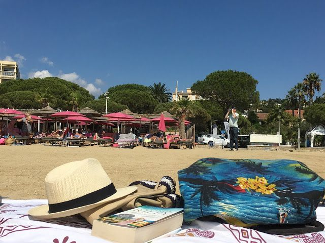 Jeg har kost meg i timevis på en familievennlig strand i Sainte-Maxime, langs den franske rivieraen