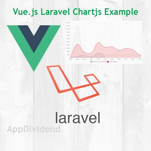 Creating charts with Laravel Vue js Chart js Tutorial With