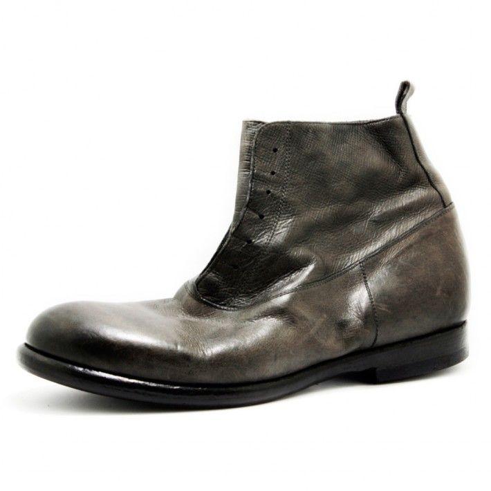Art. C393, Boots in Palmellato di colore Grigio e fodera in Vitello #Mauron1959 #Italy #shoe #man #style #fashion #luxury