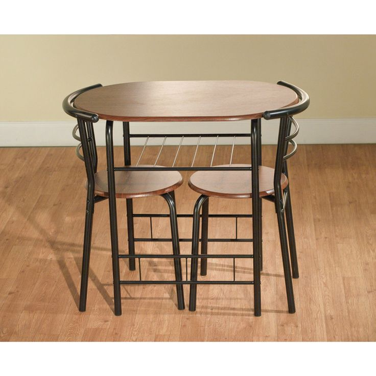 Dining Table Set For 2 Bistro Indoor Counter Height Bar Pub Style 3 Pc  Kitchen Product