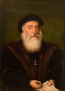 Lisboa- Museu Nacional de Arte Antiga' Retrato dito de Vasco da Gama.