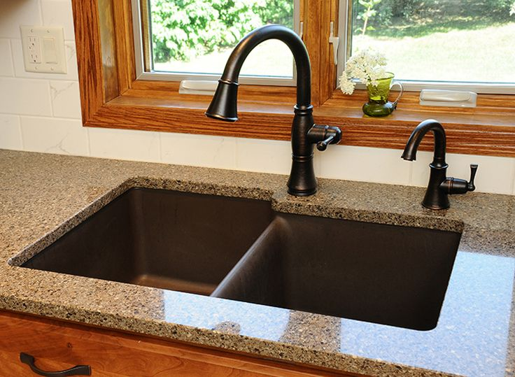 9 best Sink images on Pinterest | Bronze faucets, Bronze kitchen and ...