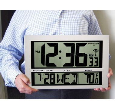marathon night owl alarm clock manual