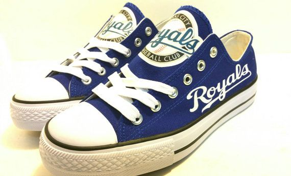 Kansas City Royals Baseball Women's Team Shoes. by BellaReyna2012