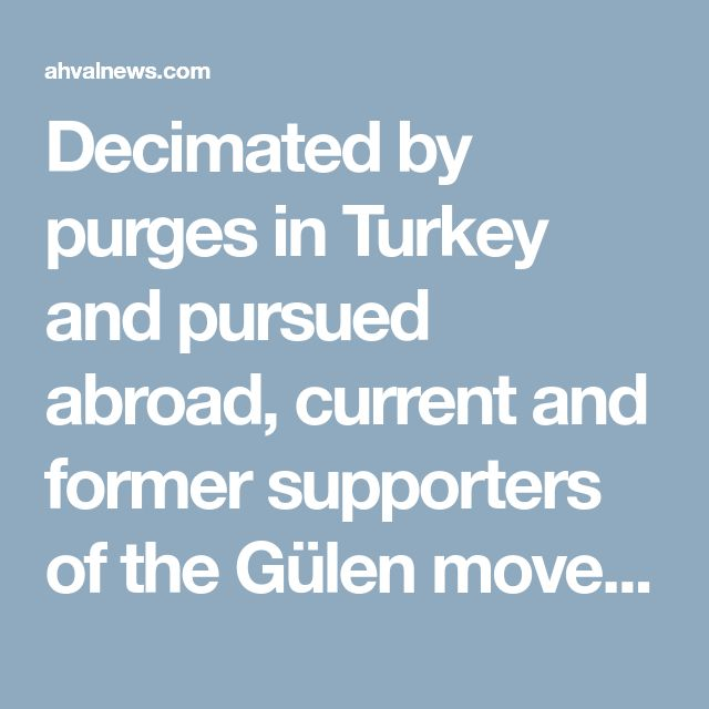 Decimated by purges in Turkey and pursued abroad, current and former supporters of the Gülen movement, blamed for the 2016 military coup attempt to overthrow President Recep Tayyip Erdoğan, have begun to publicly voice criticism of the global Islamist network. Reflecting on its fall from being one of Turkey's most powerful groups with members high up in the police, judiciary, armed forces and media, Gülen's followers called for more soul-searching and accountability, while former members…