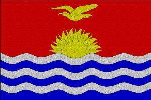 Kiribati Flag Large Glass Cutting Board by MyHeritageWear.com. $29.99. Save 33% Off!