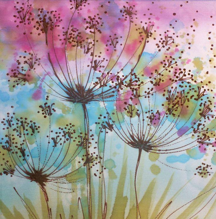 best 20 silk painting ideas on