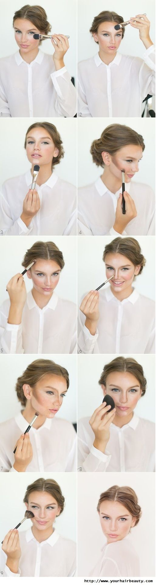 Contouring how-to.