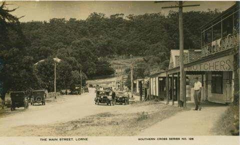 The Main Street,Lorne in Victoria (year unknown).