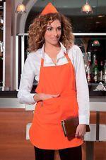 PAGAMENTO ANCHE ALLA CONSEGNA Grembiule Cucina Donna Uomo da Lavoro Cuoco Chef Alimentare Abbigliamento Abiti