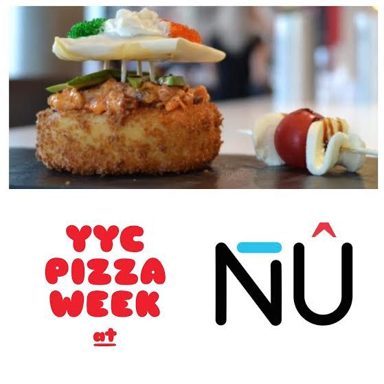 You need some #sushipizza in yo life! It'll be a totally NÛ experience for ya! #burgushi #YYCPizzaWeek #yycfood #yyc
