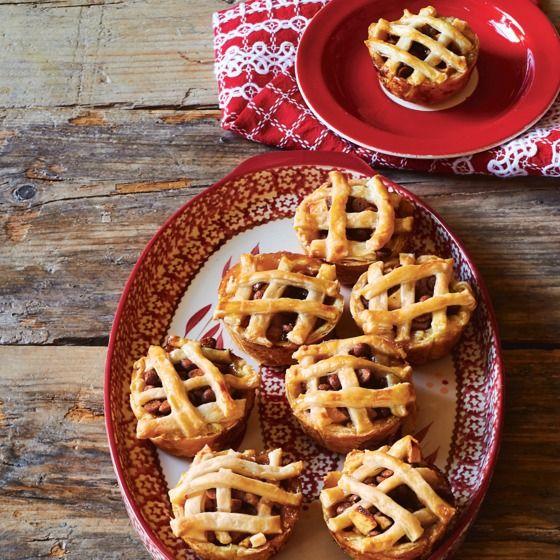 Mini-appeltaartjes met speculaas