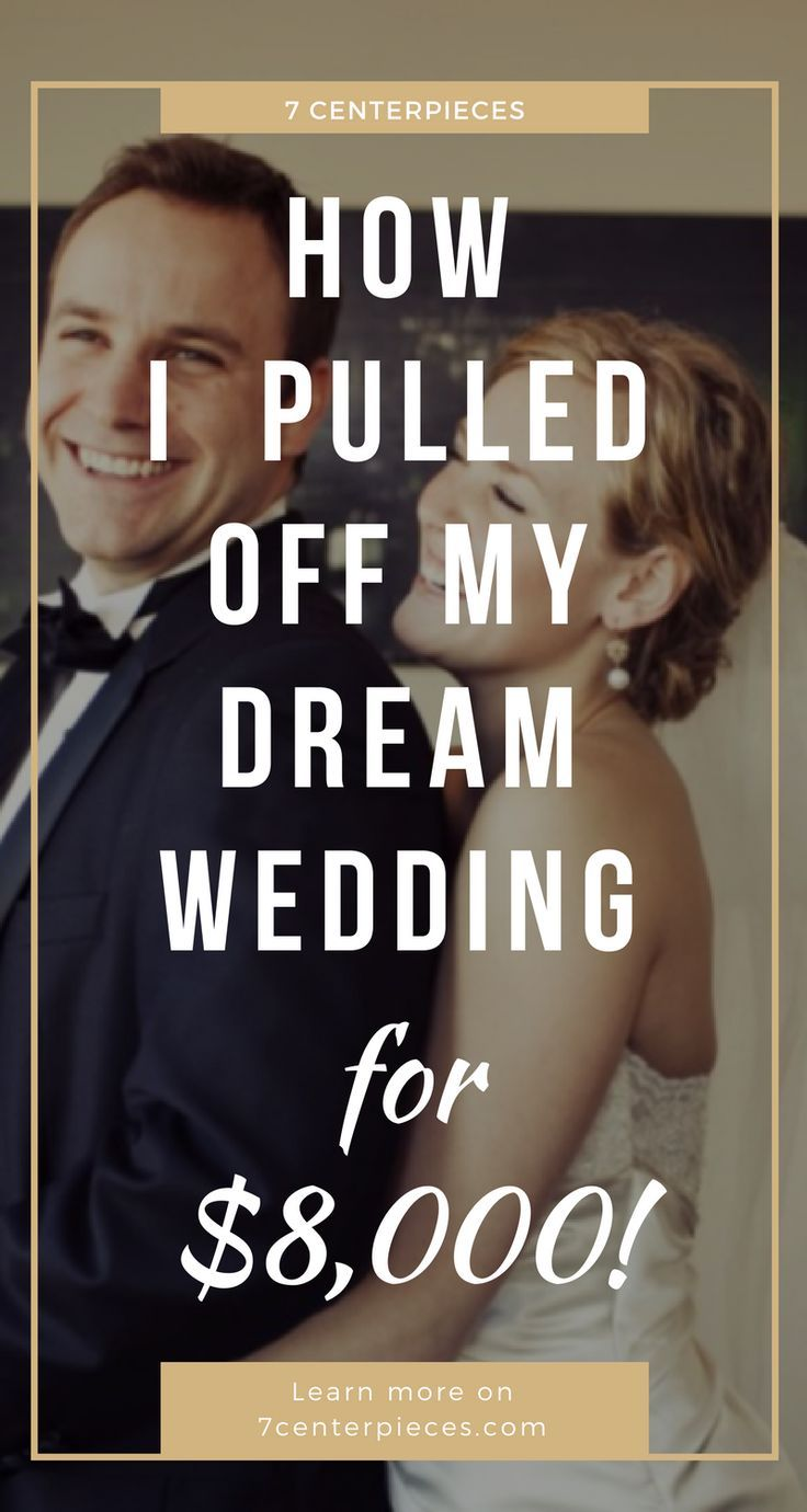 I planned my dream wedding for only $8,000! Check out all the details on how I pulled off an inexpensive wedding. PIN IT NOW for actionable tips! #cheapwedding #inexpensivewedding