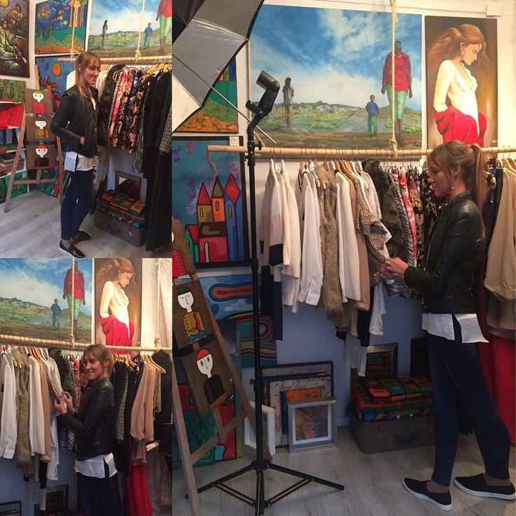 Fotos, personal Shopper y compras en La boutique Insólita