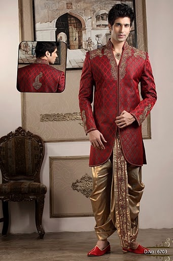 Dhoti and kurta for the groom! #southindian #groom ... New Style Dresses For Man 2013