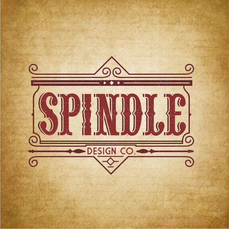 Spindle interior design sample logo