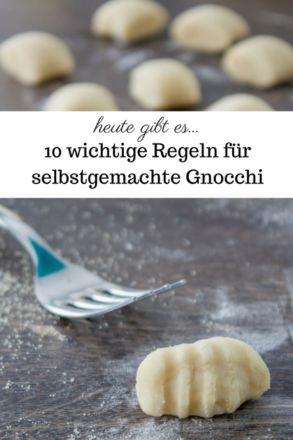 10 wichtige Regeln für selbstgemachte Gnocchi | www.heute-gibt.es