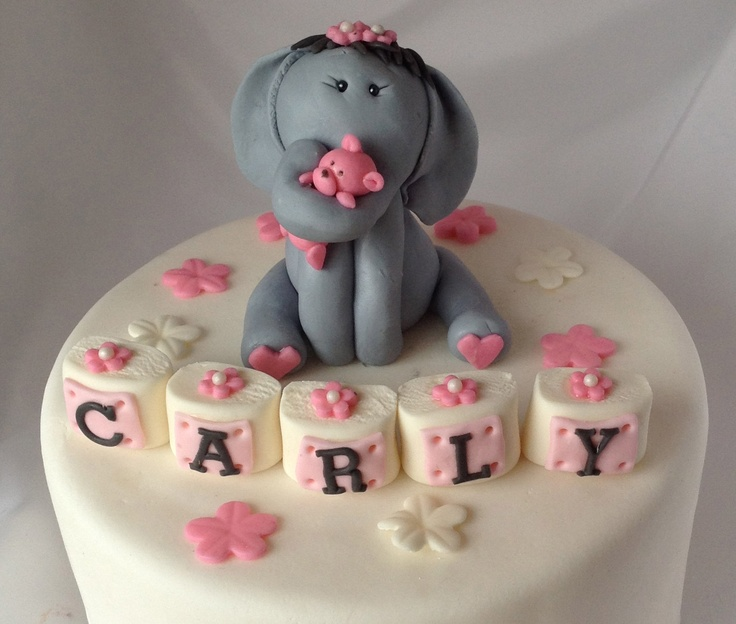 ELEPHANT BABY SHOWER Cake Topper First Birthday Baby Shower Welcome Baby  Edible Safari Animals Jungle
