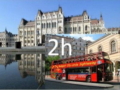 Visite du Parlement & visite guidée de 2 heures en bus à Budapest - 35 EUR