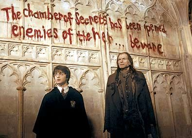 the chamber of secrets has been opened enemies of the heir... beware