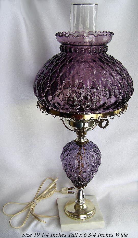 103 Best Vintage Oil Lamps Images On Pinterest Antique