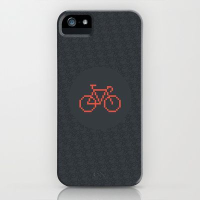 Pixelbike iPhone & iPod Case
