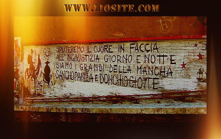 """Prendetevi PER FAVORE il tempo di ascoltare attentamente questa canzone, di capire le parole, di farle vostre. Oggi più che mai abbiamo bisogno di avere tantissimi Don Chisciotte!!  Il """"potere"""" è l'immondizia della storia degli umani  e, anche se siamo soltanto due romantici rottami,  sputeremo il cuore in faccia all'ingiustizia giorno e notte:  siamo i """"Grandi della Mancha"""",  Sancho Panza... e Don Chisciotte !  #FrancescoGuccini, #DonChisciotte, #potere, #cuore, #amore, #ribellione…"""
