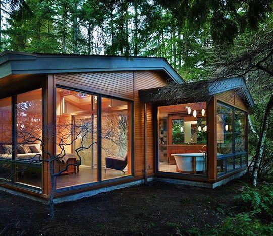 Vintage Driftwood: nice cabin