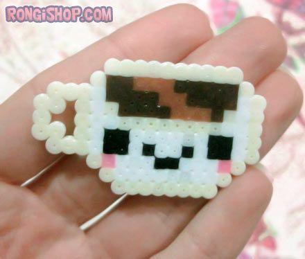 cute perler beads food - Google Search