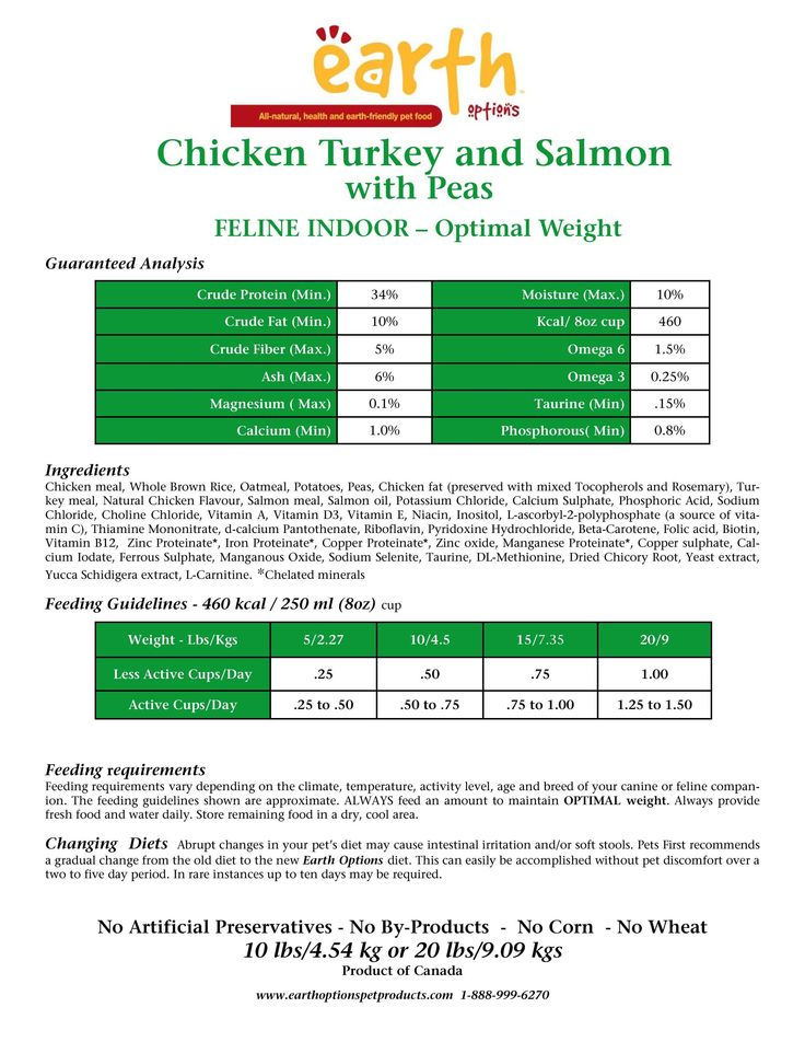 FREE TRIAL ! Chicken Turkey and Salmon with Peas Feline, Indoor Part 1