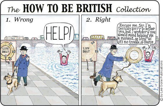 youknowyourebritishwhen:    Pip-pip there, old boy.