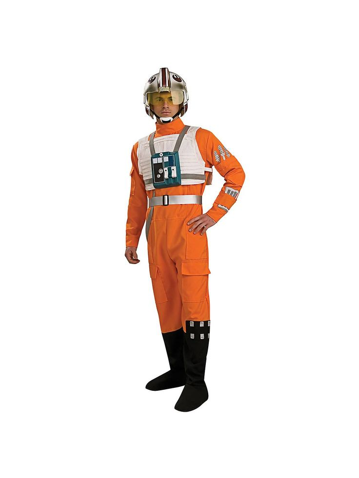 Adult Star Wars X-wing Fighter Pilot Costume  sc 1 st  Pinterest & The 17 best 7u0027s Costumes images on Pinterest | Menu0027s costumes Adult ...