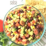 Cowboy Salsa- so light, full of flavor, and delicious! www.togetherasfamily.com