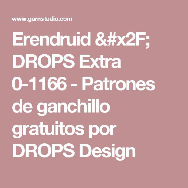 Erendruid / DROPS Extra 0-1166 - Patrones de ganchillo gratuitos por DROPS Design