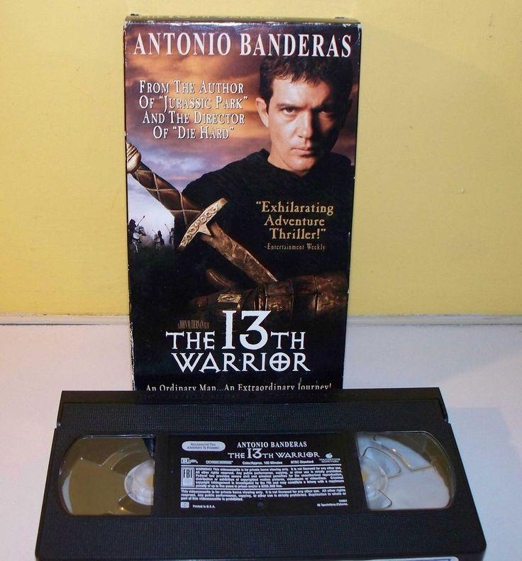 The 13th Warrior (VHS, 2000) Antonio Banderas Omar Sharif Diane Venora