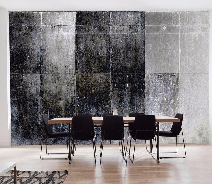 Dark Concrete Wall Panels