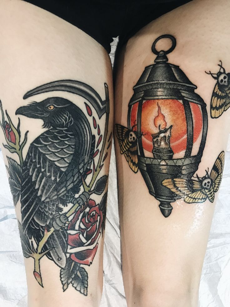 My tattoo done fresh by Ryan Thomas at Black 13 in Nashville