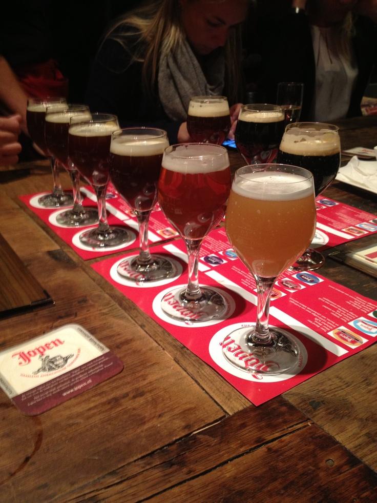 Bier proeverij:)