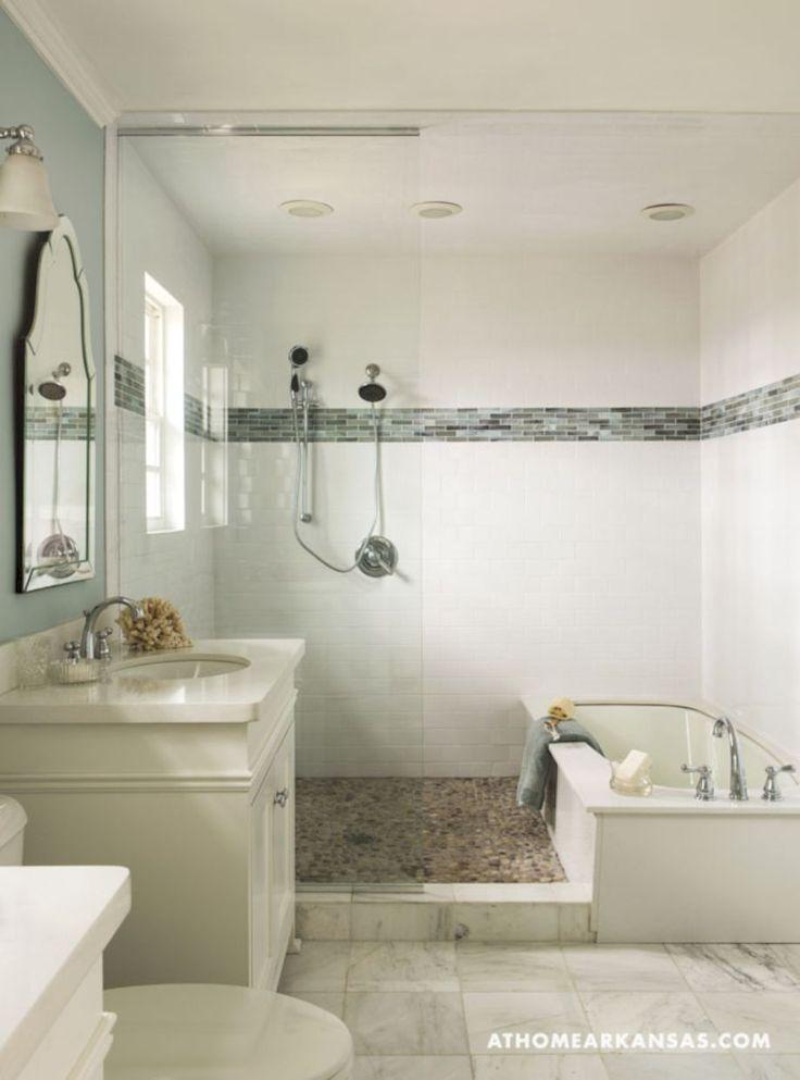 Pin by decoria on bathroom decorating ideas bathroom tub - Small bathroom with tub and shower ...