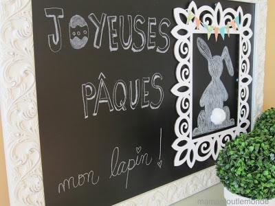 Maman tout le monde:   Affiche pour Pâques
